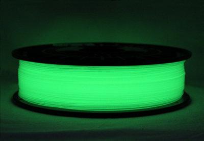 Glow-in-the-dark Filament, 3D printer, 1.75mm 1000 gram