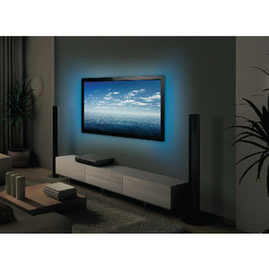 USB TV-mood light LED 2 strips 50 cm RGB met afstandsbediening