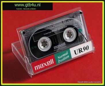 MAXELL audiocassette 90 min. tape cassette.