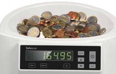 Muntenteller en sorteerder Safescan 1250