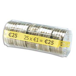 Muntcontainers geschikt voor hergebruik, euro munthulzen.