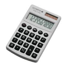Olympia zakrekenmachine LCD1110 calculator