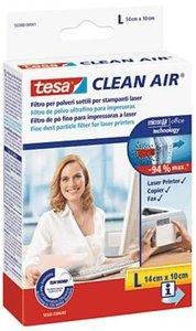 CLEAN AIR fijnstof filter van TESA,  maat L , voor laserprinter, fax en kopier.