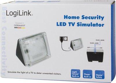 TV simulator type SC0214 biedt bescherming tegen inbrekers