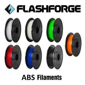 ABS Filaments, 3D printer, 1.75mm , merk Flashforge. 1000 gram