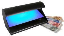 Betrouwbare UV lamp voor echtheidscontrole bankbiljetten, creditcards etc.